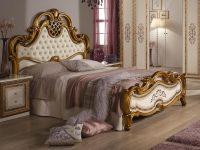 Кровать Анита беж