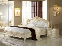 Кровать Диана беж