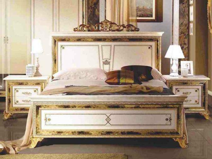 Кровать Катя беж2