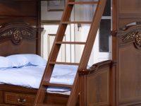 Лестница к кровати Afina орех с золотом