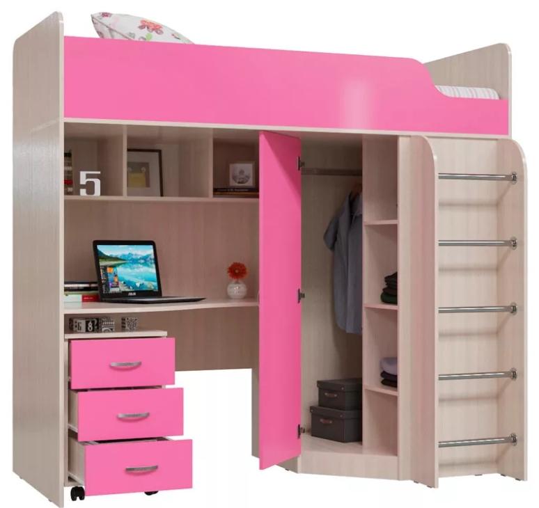 Детский комплекс Карлсон розовый