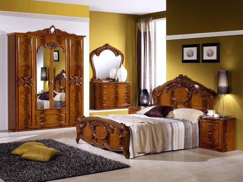 Спальня Ольга орех