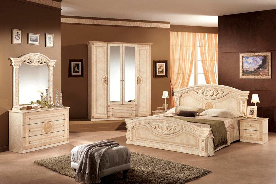 Спальня Рома беж