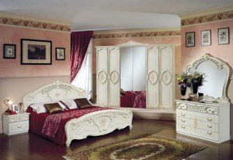 Спальня Роза беж
