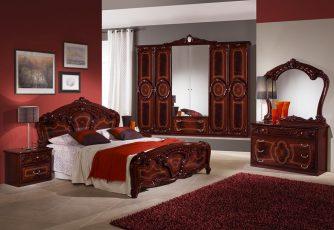 Спальня Роза могано