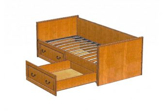 Кровать Вилия