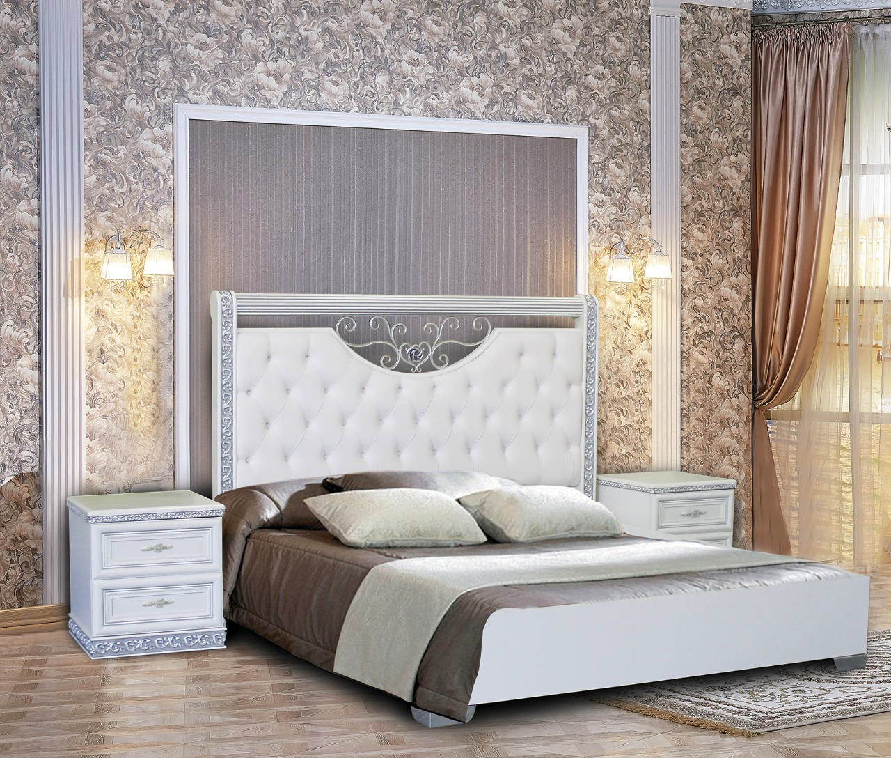 Спальня Берта