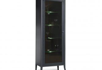 Шкаф с витриной Тиффани 2425-01, БМ680