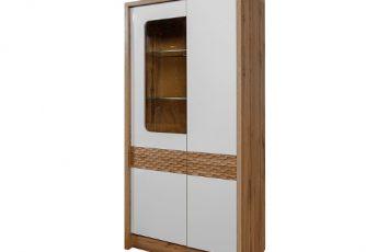 Шкаф с витриной Рондо 9 П553.09