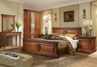 Спальня Милана мореный дуб