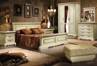 Спальня Милана слоновая кость