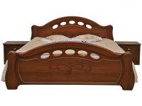 Кровать Александра П251.51 Каштан
