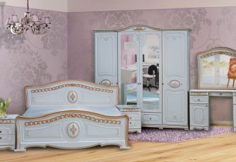 Спальня Азалия белый