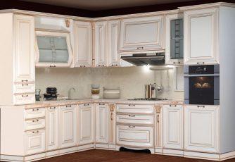 Кухня San-Marino угловая крем