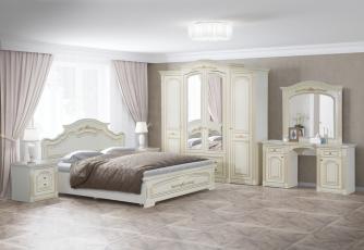 Спальня Деметра слоновая кость