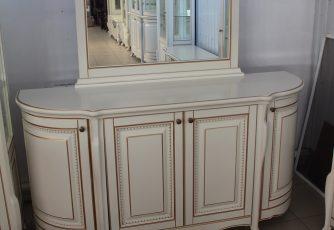 Комод с зеркалом Виченца ваниль