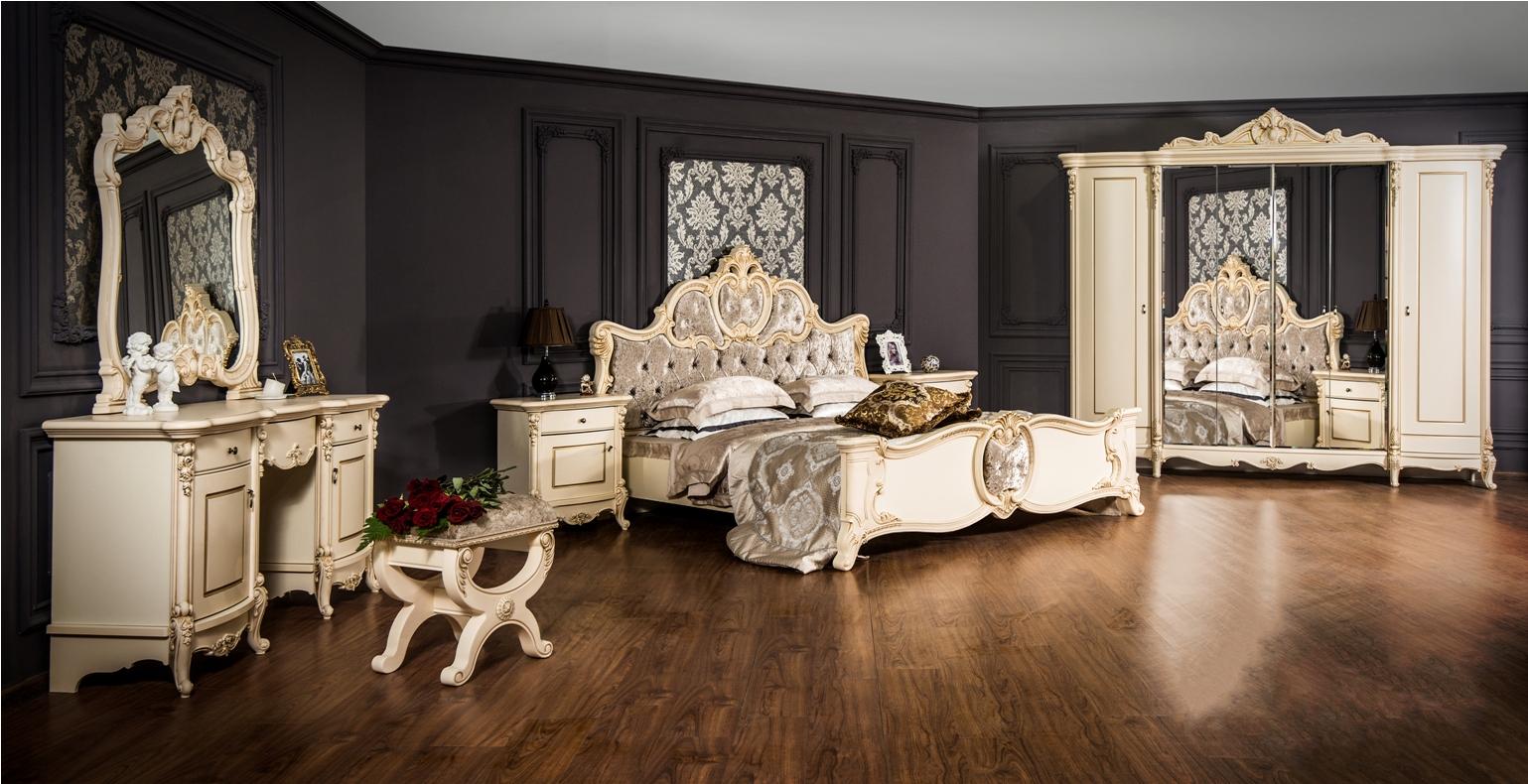 Спальня Лорена крем глянец