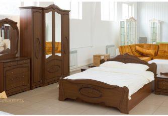 Спальня Валенсия Орех