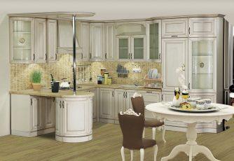 Кухня Нова-II ваниль