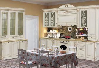 Кухня София I ваниль