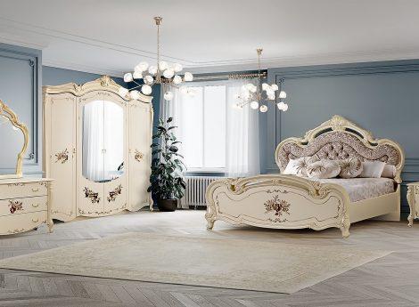 Спальные гарнитуры с цветами