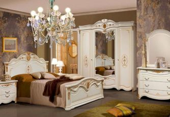 Спальня Джоконда белая СлониМебель