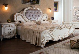 Кровать Элиза крем Эра