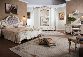 Спальня Элиза крем Эра