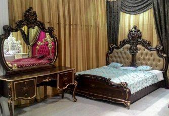 Кровать 1,8х2,0 Шейх СШ-03 орех
