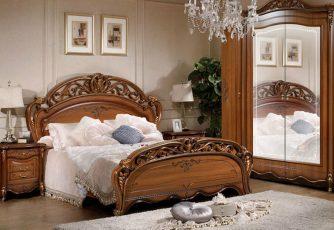Кровать 1,8х2,0 м Аллегро орех