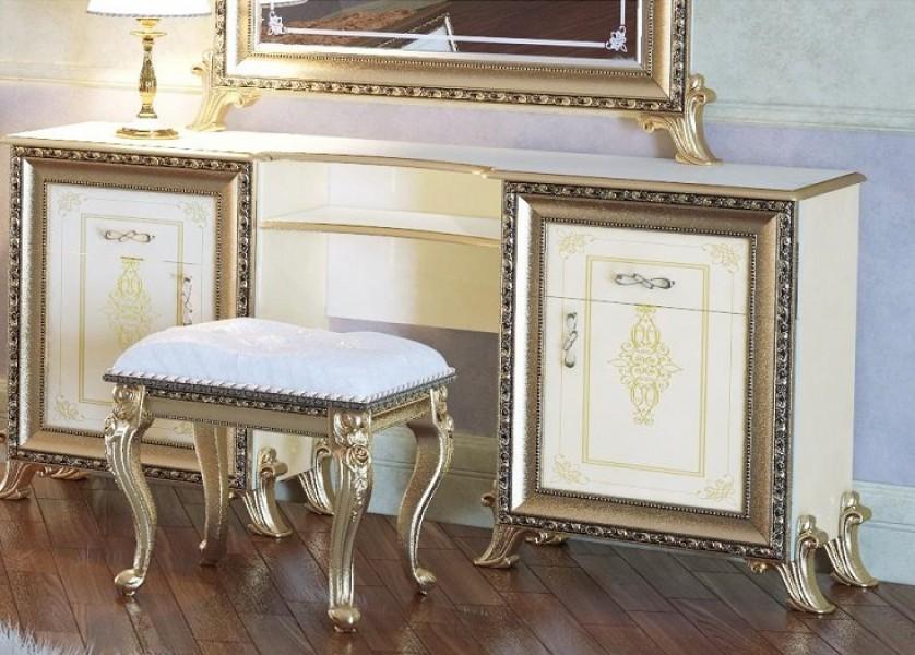 Стол туалетный слоновая кость Мэри мебель