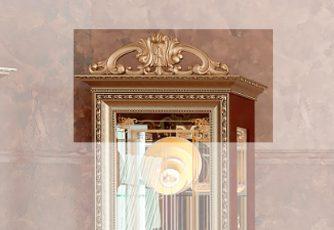 Корона №1 для шкафа 1 дв. Версаль