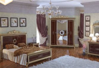 Спальня Версаль орех Мэри мебель