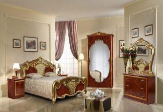 Спальня Карина Орех Золото