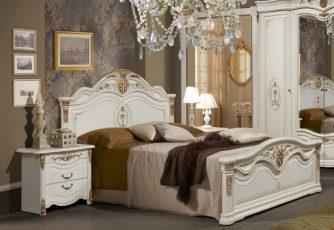 Кровать Джоконда белая СлониМебель