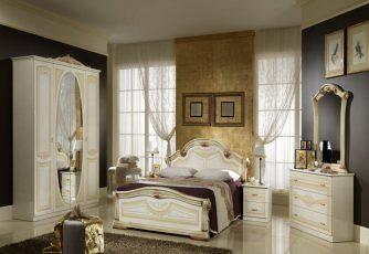 Спальня Виктория крем Альт-Мастер