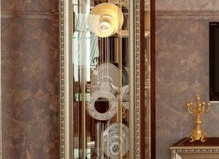Шкаф 1-дв. без короны Версаль ГВ-01 орех