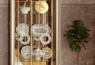 Шкаф 2-дв. без короны Версаль ГВ-02 орех
