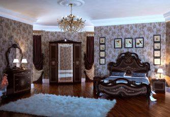 Спальня Грация орех