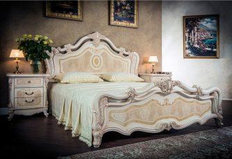 Кровать Илона Крем