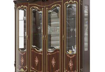 Шкаф 4-дверный Шейх ГШ-05 орех