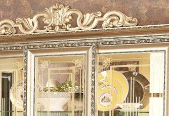 Корона №3 для шкафа 3 дв. и зеркала Версаль