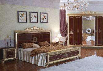 Кровать Версаль орех Мэри мебель
