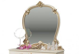 Зеркало Грация СГ-08 слоновая кость