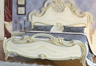 Кровать Грация слоновая кость