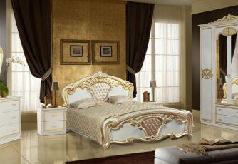 Кровать Карина Беж Золото