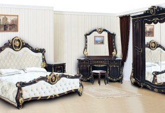 Спальня Монреаль темный орех Арида