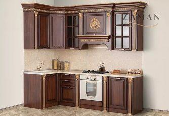 Кухня Валенсия угловая 2,55 м караваджо Буденновская МК