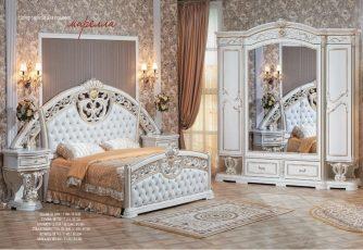 Спальня Марелла крем/золото