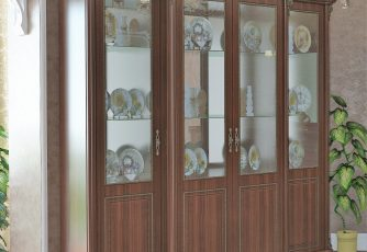 Шкаф 4-х дверный Да Винчи ГД-05 орех